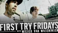 First Try Fridays -- With Wieger Van Wageningen