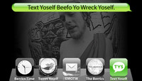 TEXT YOSELF BEEFO YO WRECK YOSELF -- With David Clark