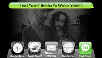 TEXT YOSELF BEEFO YO WRECK YOSELF -- With Patrick Melcher and Richie Jackson