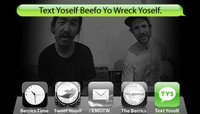 TEXT YOSELF BEEFO YO WRECK YOSELF -- With Yoon and Paul Shier