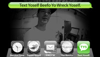 TEXT YOSELF BEEFO YO WRECK YOSELF -- With Jesus Fernandez