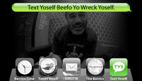TEXT YOSELF BEEFO YO WRECK YOSELF -- With Steve Caballero