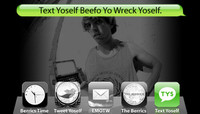 TEXT YOSELF BEEFO YO WRECK YOSELF -- With Dallas Clayton