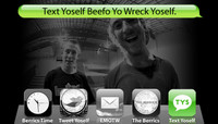 TEXT YOSELF BEEFO YO WRECK YOSELF -- With Ron Deily and Brandon Westgate