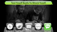 TEXT YOSELF BEEFO YO WRECK YOSELF -- With Sean Conover and Silent Mike