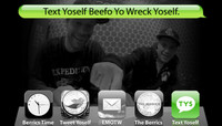 TEXT YOSELF BEEFO YO WRECK YOSELF -- With Chany Jeanguenin + Ryan Gallant