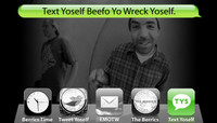 TEXT YOSELF BEEFO YO WRECK YOSELF -- With Rob Gonzales