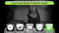 TEXT YOSELF BEEFO YO WRECK YOSELF -- With Erik Ellington