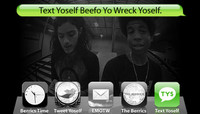 TEXT YOSELF BEEFO YO WRECK YOSELF -- With Kevin Romar and Felipe Ortiz