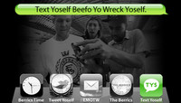 TEXT YOSELF BEEFO YO WRECK YOSELF -- With Aaron Snyder