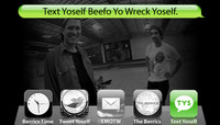 TEXT YOSELF BEEFO YO WRECK YOSELF -- With Justin Strubing