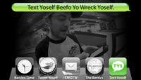 TEXT YOSELF BEEFO YO WRECK YOSELF -- With Clint Peterson