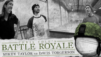 BATTLE ROYALE -- MIKEY TAYLOR vs DAVIS TORGERSON