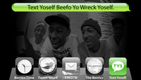 TEXT YOSELF BEEFO YO WRECK YOSELF -- With Odd Future