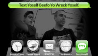 TEXT YOSELF BEEFO YO WRECK YOSELF -- With Keith Hufnagel and Johan Stuckey