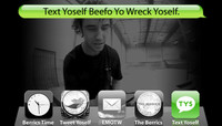 TEXT YOSELF BEEFO YO WRECK YOSELF -- With Jimmy Carlin