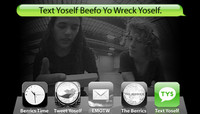 TEXT YOSELF BEEFO YO WRECK YOSELF -- With David Gonzales and Ben Nordberg