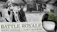 BATTLE ROYALE -- MANNY SANTIAGO vs MARTY MURAWSKI