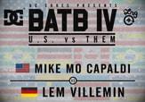 BATB 4 -- Mike Mo Capaldi vs Lem Villemin