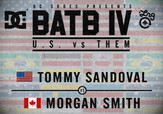 BATB 4 -- Tommy Sandoval vs Morgan Smith