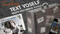 TRAVELING TEXT YOSELF -- With Cory Kennedy