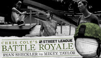 BATTLE ROYALE -- RYAN SHECKLER vs MIKEY TAYLOR