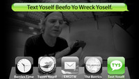 TEXT YOSELF BEEFO YO WRECK YOSELF -- With Josiah Gatlyn
