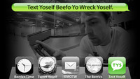 TEXT YOSELF BEEFO YO WRECK YOSELF -- With Scott Pfaff AKA Big Cat