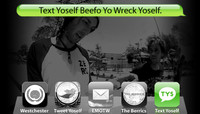 TEXT YOSELF BEEFO YO WRECK YOSELF -- With Garrett and Gantry Hill at Explore The Berrics - Westchester