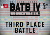 BATB 4 THIRD PLACE BATTLE -- Davis Torgerson vs Mikemo Capaldi