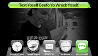 TEXT YOSELF BEEFO YO WRECK YOSELF -- Aaron JAWS Homoki