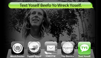 TEXT YOSELF BEEFO YO WRECK YOSELF -- With Collin Provost at Explore The Berrics - Westchester