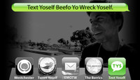 TEXT YOSELF BEEFO YO WRECK YOSELF --  With Kevin Romar at Explore The Berrics - Westchester