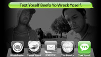 TEXT YOSELF BEEFO YO WRECK YOSELF -- With Clint Peterson and Raymond Molinar at Explore The Berrics - Westchester