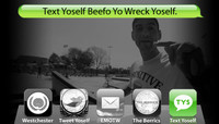 TEXT YOSELF BEEFO YO WRECK YOSELF -- With Enrique Lorenzo at Explore The Berrics - Westchester