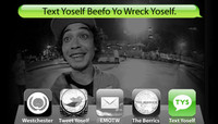 TEXT YOSELF BEEFO YO WRECK YOSELF -- With Daniel Castillo At Explore The Berrics - Westchester