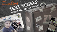 TRAVELING TEXT YOSELF -- With HUF D.B.C