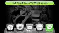 TEXT YOSELF BEEFO YO WRECK YOSELF -- With Andrew Langi, Curren Caples and Louie Lopez