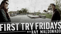 First Try Fridays -- At Explore The Berrics - Westchester with Ray Maldonado