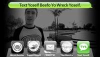 TEXT YOSELF BEEFO YO WRECK YOSELF -- With Davis Torgerson at Explore The Berrics - Westchester