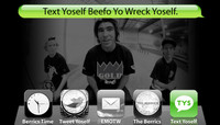 TEXT YOSELF BEEFO YO WRECK YOSELF -- Kelly Hart with Pierce & Chris Brunner