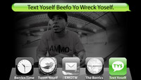TEXT YOSELF BEEFO YO WRECK YOSELF -- With Manny Santiago