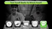 TEXT YOSELF BEEFO YO WRECK YOSELF -- With Youness Amrani and Theotis Beasley
