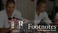 FOOTNOTES -- Alphonzo Rawls