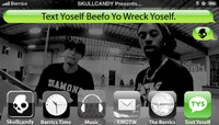 TEXT YOSELF BEEFO YO WRECK YOSELF -- With Lenny Rivas and Keelan Dadd