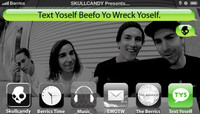 TEXT YOSELF BEEFO YO WRECK YOSELF -- With Glassy
