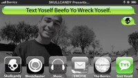 TEXT YOSELF BEEFO YO WRECK YOSELF -- With Tommy Fynn at Explore The Berrics - Westchester