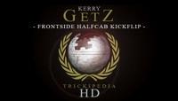 TRICKIPEDIA -- Frontside Halfcab Kickflip Hd