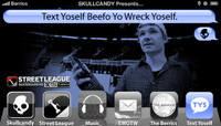 TEXT YOSELF BEEFO YO WRECK YOSELF -- With Shane O'Neill at Street League Kansas City