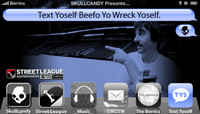 TEXT YOSELF BEEFO YO WRECK YOSELF -- With Billy Marks at Street League Kansas City